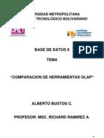 Comparacion de Herramientas Olap-ABC
