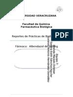 Farmacocinetica de Albendazol