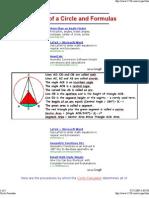 Circle Formulas1