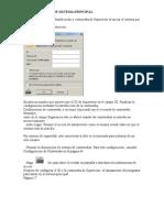 Configuración de sistema principa dvr 900l