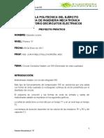 Informe de Proyecto Circuito Mono as Table Con El 555