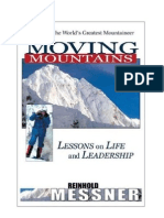 Moving Mountains - Lessons on Life & Leadership - Reinhold Messner