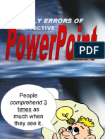 7 DEADLY ERRORS OF POWER-POINTS