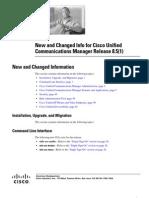 Release Notes CUCM 8.5(1)