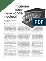 La Sistemazione in Sicurezza Delle Scorie Nucleari