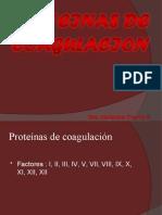 Proteínas de coagulación