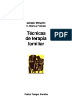 Tecnicas de Terapia Familiar Salvador Minuchin