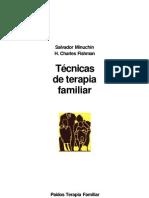 Tecnicas de Terapia Familiar Salvador Minuchin
