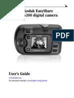 Manual Kodak Cx6200