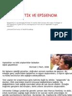 gelişim genetiği 30.05.2011 (epigenetik)