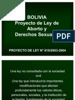 Bolivia Aborto