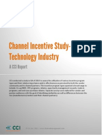 Channel Incentive Usage Study