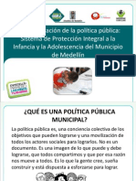 Leidy Marcela Zuluaga. Especialista en Gerencia Social. Secretaría de Binestar Social de la Alcaldía de Medellín