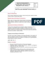 CURSO DE PARTÍCULAS MAGNÉTICAS NIVEL II SENA 2