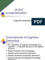 Cognitive Semantics