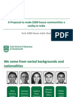 $300 House in India - Business Plan