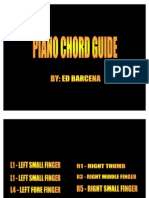 Piano Chord Guide Ppt