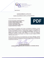 Convocatoria No. 108-05-2011