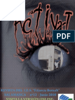 Activa.T. nº 13. Curso 2009-2010