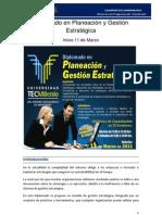 Diplomado en Planeacion y Gestion Estrategia -Marzo2011