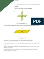 Teorema de pitágoras e o espaço