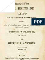 Historia del Reino de Quito en la América Meridional - Vol.2