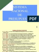 Exposicion Sistema de Presupuesto