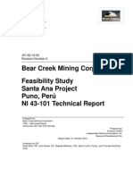 Bear Creek Report