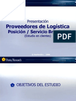 Estudio Logística Penta Research