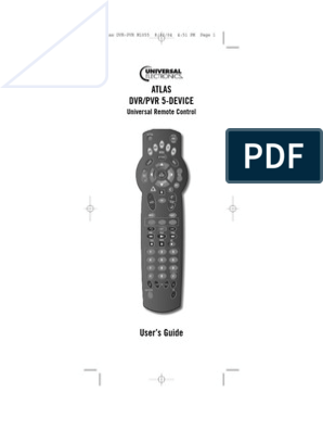 Universal Remote From Mediacom | Electromagnetic