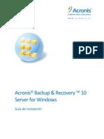 ABR10SW Install Guide Es-ES