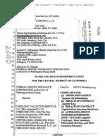 FDIC -- WaMu v. Core Logic, eAppraiseIt Complaint (22R)