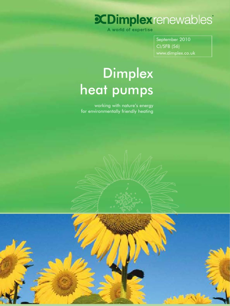 DIMPLEX Heat Pump Comprehensive Brochure Web | Heat Pump | Hvac