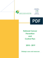 National Cancer Prevention and Control Plan 2010-2019