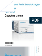 Analizador Wimax TSMW Operating Manual