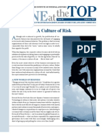 IIA Culture of Risk