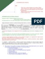 orientação 15 - A interpretação da norma jurídica e o problema da linguagem