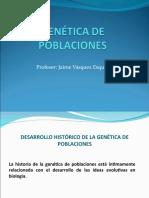 EL DESARROLLO HISTÓRICO DE LA GENÉTICA DE POBLACIONES