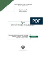 GESTIÓN DE PEQUEÑA EMPRESA