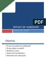 análise de viabilidade de projeto