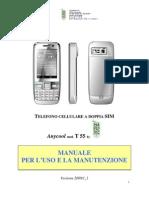 Anycool T55 Manuale Italiano