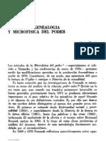 110522-Foucault, Genealogía y Microfísica del Poder. Terán