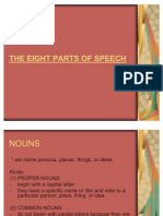 The Eight Parts of Speech Complete