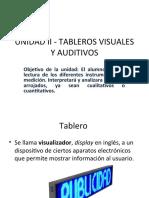 Unidad II - Tableros Visuales y Auditivos