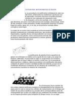 COMPROBACIÓN DE LA PLANITUD