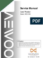 Manual Servicio Lavadora Daewoo DWF-176S