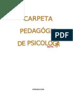 CARPETA PSICOLOGIA