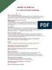 ASP.net ,C#, VB.net and COM -Full of Microsoft Technology
