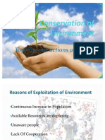 Conservation of Environment