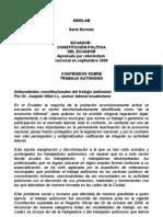 SINDLAB Normas IV.2.1EcuadorConstituyente